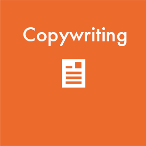 text copywriting and illustration of page